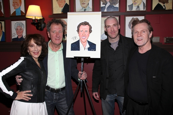 Andrea Martin, Geoffrey Rush, Brian Hutchison and William Sadler
