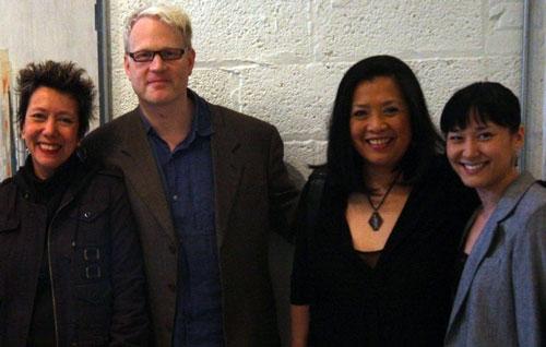 Jessica Hagedorn, Jonathan Fried, Mia Katigbak, and Jennifer Ikeda Photo