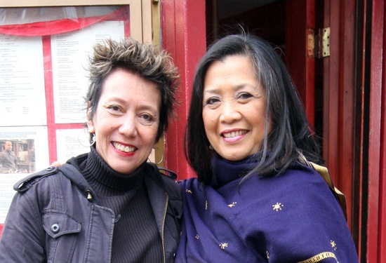 Jessica Hagedorn and Mia Katigbak