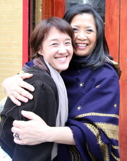 Michi Barall and Mia Katigbak