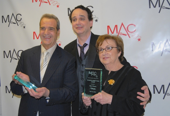 Joey Reynolds, Sidney Myer and Myra Chanin-Board of Directors Award