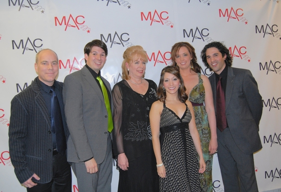 Kevin Dozier,Stearns Matthews, Deb Berman, Christiana Biano, Cait Dolye and Ben Cherry-all nominees for Debut Artists