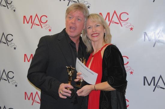 Miles Phillips and Karen Oberlin -Winner Vocal Duo/Group