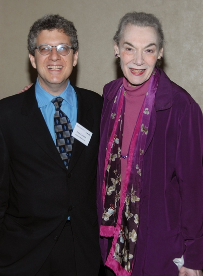 Todd London and Marian Seldes Photo