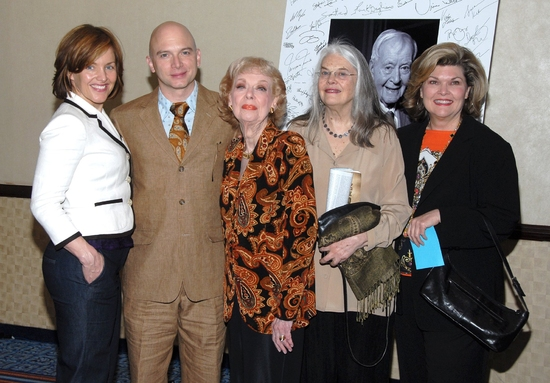 Alice Ripley, Michael Cerveris, Joyce Randolph, Lois Smith and Deborah Monk