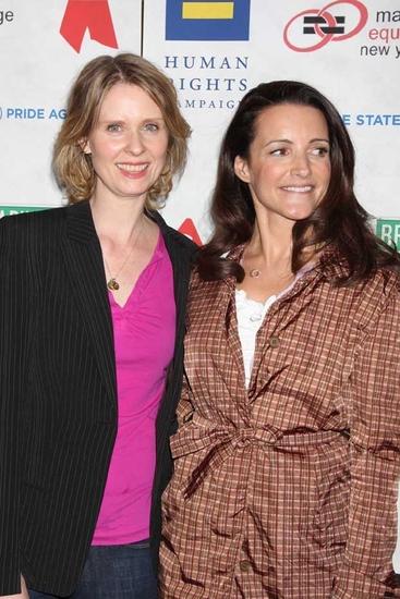 Cynthia Nixon and Kristen Davis