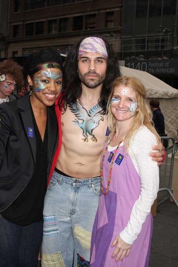 Sasha Allen, Paris Remilard and Megan Lawrence