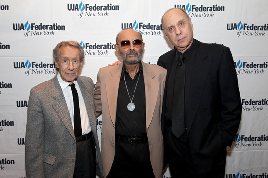 Arthur Penn, Stanley Donen, and Marshall Brickman at UJA-Federation Of NY '09 Excellence in Theater Awards Honors Furman