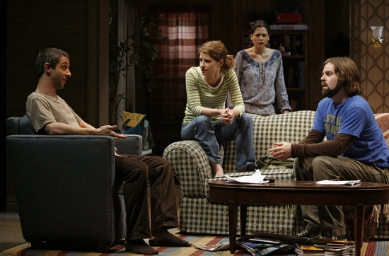 Jeremy Strong, Mandy Siegfried, Katie Kreisler, and Haynes Thigpen  Photo