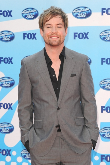David Cook at AMERICAN IDOL Season 8 Grand Finale - Arrivals and Press Room!