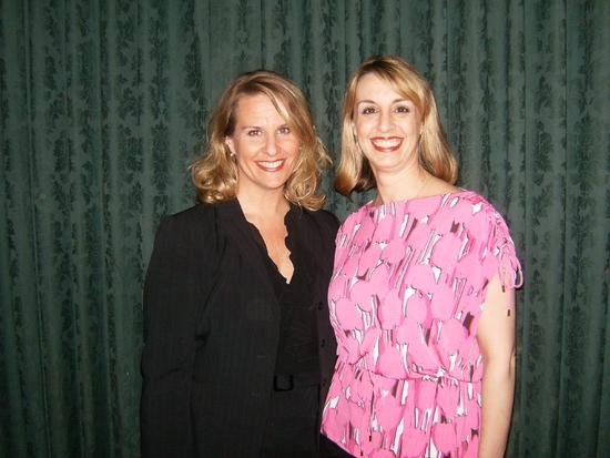 Roberta Duchak and Rachel Rockwell