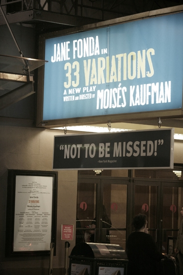 Photo Coverage: '33 VARIATIONS' - Closing Night Curtain Call on Broadway