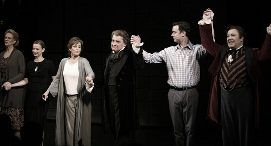 Susan Kellermann, Samantha Mathis, Jane Fonda, Zach Grenier, Colin Hanks and Don Amendolia