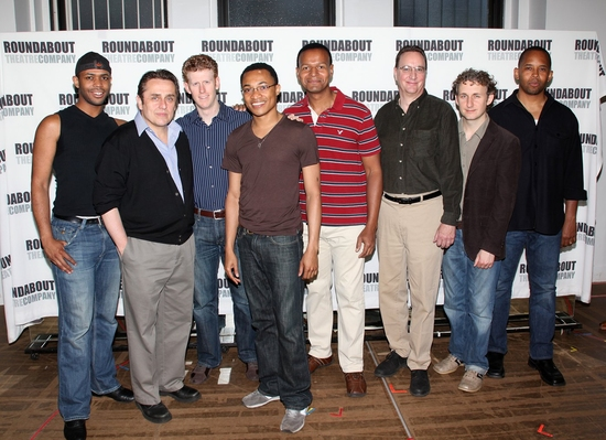 Derrick Cobey, Michael McCormick, Mark Ledbetter, Randy Aaron, Erick Pinnick, James Judy, Michael Therriault and Michael Boatman