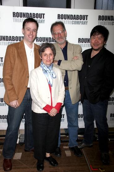 Michael Patrick Walker, Liza Gennaro, Mark Saltzman and Stafford Arima