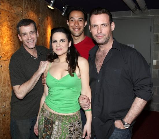 Bobby Smith, Rachel Zampelli, Matt Pearson and Tom Zemon