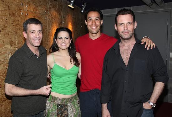Bobby Smith, Rachel Zampelli, Matt Pearson and Tom Zemon Photo