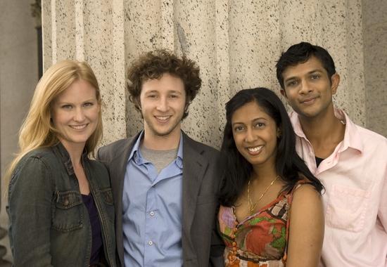 Heidi Armbruster, Adam Green, Anitha Gandhi, and Utkarsh Ambudkar