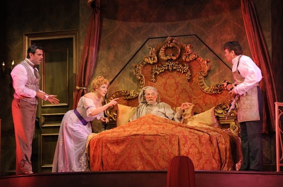 Photo Flash: A FLEA IN HER EAR At KC Rep