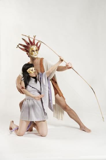 Kaori Fujiyabu and Perry Yung