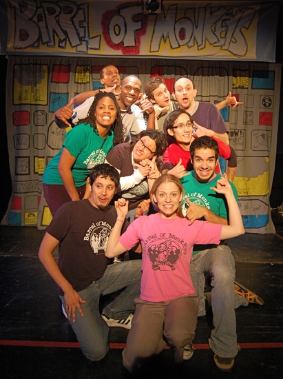 Christina Anthony, Donnell Williams, Bradford Stevens, Philip Markle, Jason Sperling; (center row, left to right) Mari Stratton, Tai Palmgren; (kneeling front row, left to right) Ricardo Gamboa, Rani Waterman and Brandon Cloyd