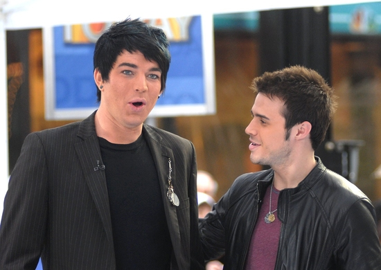 Adam Lambert and Kris Allen