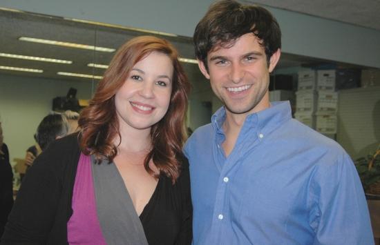 Sasha Weiss and Nicholas Galbraith