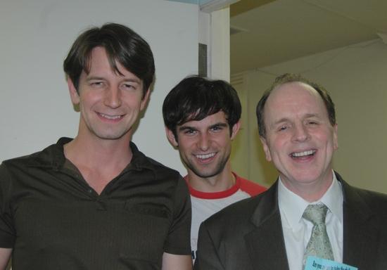 Edwin Cahill, Nicholas Galbraith and Sydney J. Borgoyne