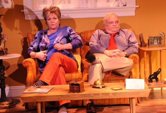 Ellen Parker and J.R. Horne
