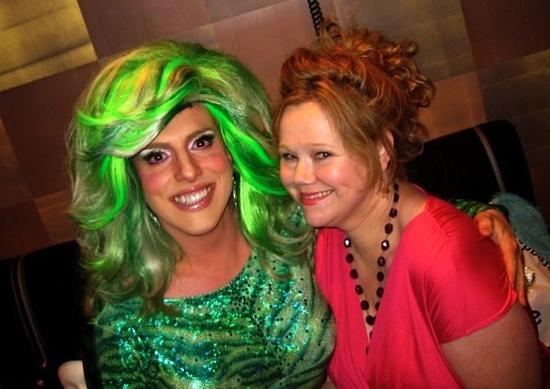 Hedda Lettuce and Caroline Rhea