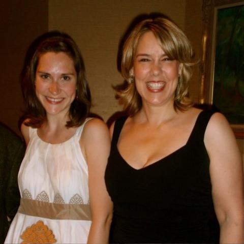 Kait Kerrigan and  Beth Falcone