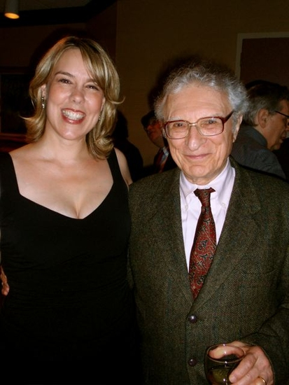 Beth Falcone and Sheldon Harnick