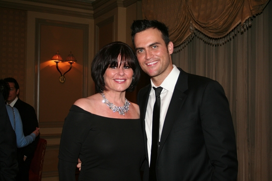 Sunny Jean and Cheyenne Jackson