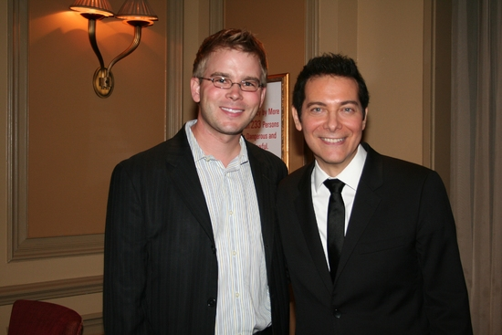 John Proulx (Pre Show Entertainment) and Michael Feinstein
