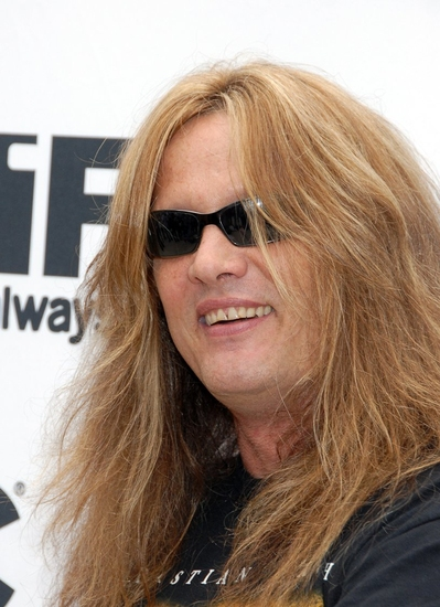 Sebastian Bach at Maroulis, Bach and Frankel Host America's Hottest Rocker Mom Contest