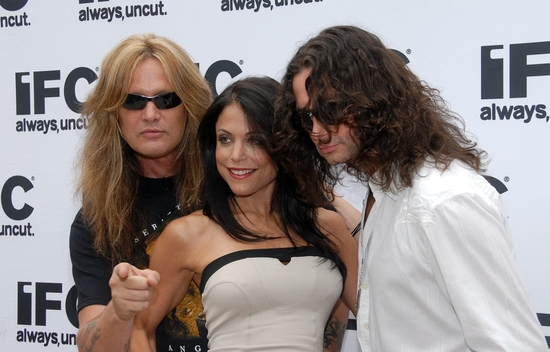 Sebastian Bach, Bethenny Frankel and Constantine Maroulis