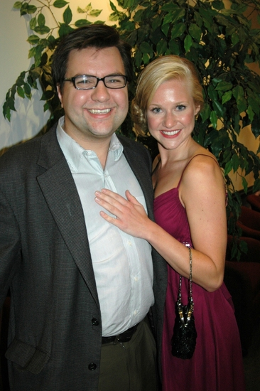 Michael Cassara (Casting) and Rochelle Smith at White Plains Performing Arts Center 2009 Gala