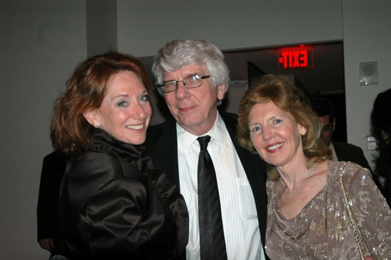 Susan Egginton (Co Chair of Gala), Jack W. Batman and Ann Bernstein (Co Chair of Gala)