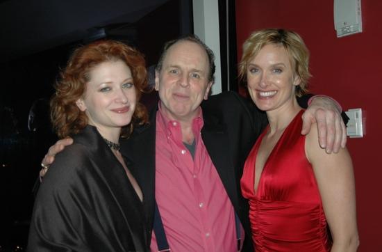Kerry O'Malley, Sidney J. Burgoyne and Rachel de Benedet
