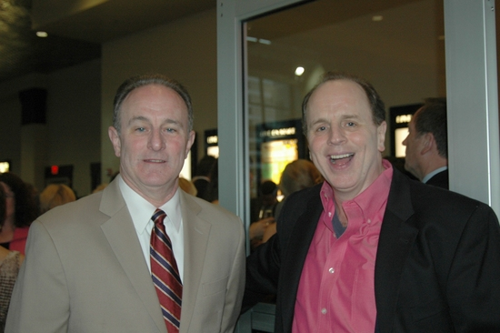 Paul Burgoyne and Sidney J Burgoyne (Director of tonights Gala)