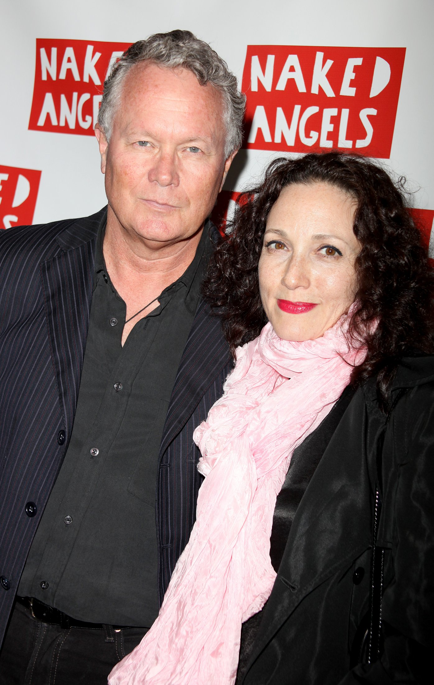 High Res Chris Calkins and Bebe Neuwirth Large Photo