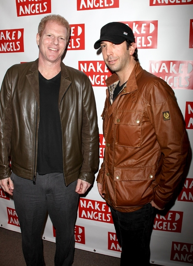 Noah Emmerich and David Schwimmer