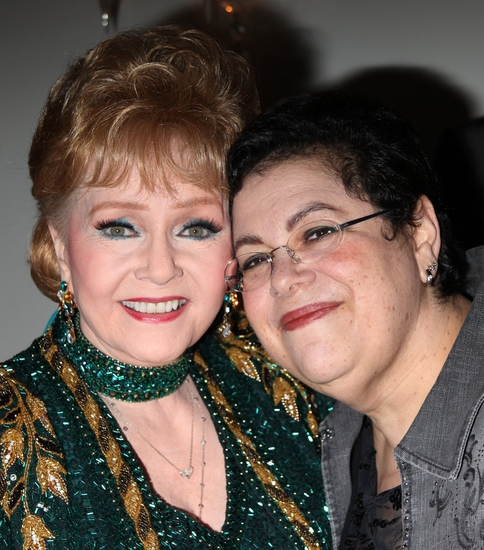 Debbie Reynolds and Phoebe Snow at Debbie Reynolds Debuts 'An Evening Of Music And Comedy' At Cafe Carlyle