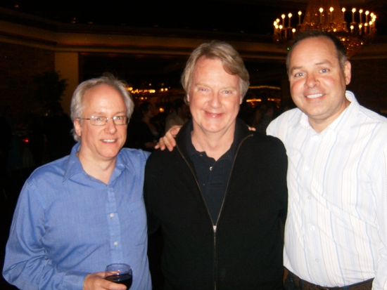 Malcolm Ruhl, John Foley and Shawn Stengel
