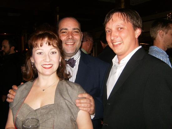Tammy Mader, William Osetek and Jason Van Lente