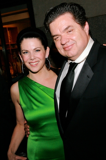 Lauren Graham and Oliver Platt at 2009 Tony Awards Gala Ball