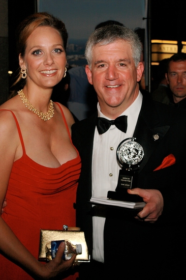 Julie and Gregory Jbara