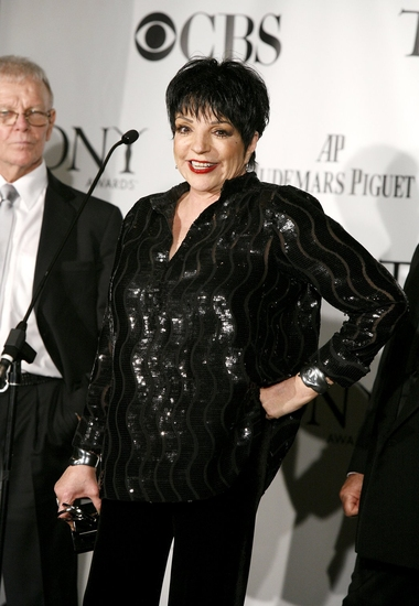Ron Lewis and Liza Minnelli