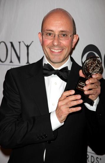 Paul Arditti at 2009 Tony Award Winners Press Room Sneak Peek