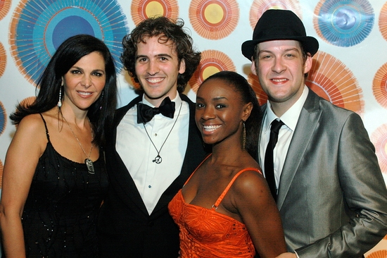 Barbara Manocherian, Andy Sandberg, Saycon Sengbloh and Andrew Kolber